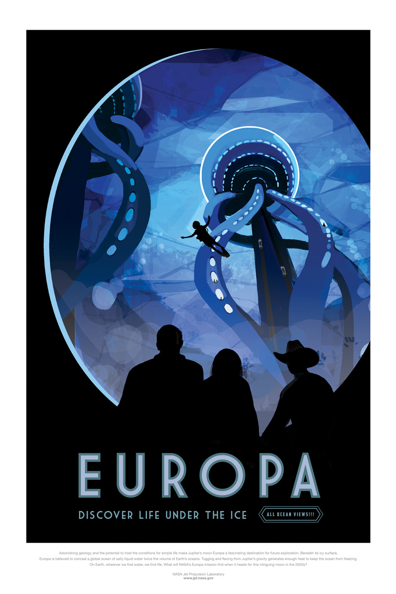 Europa Travel Poster