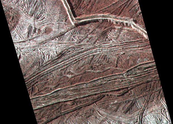 Photo of Europa terrain