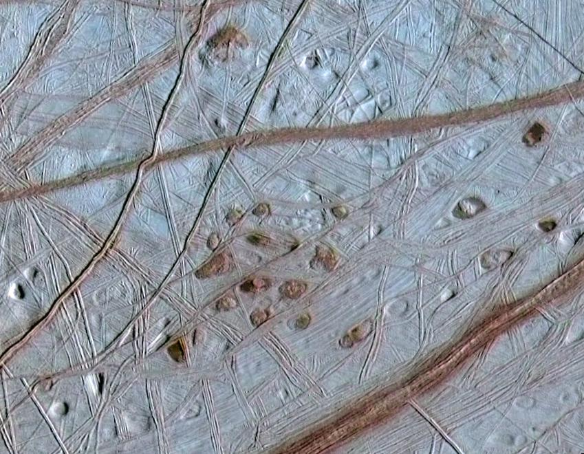 Image of Europa surface